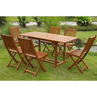 Sabbattus 7 Piece Dining Set by Breakwate..