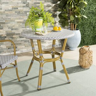 Shop For Rahul Rattan Bistro Table Order and Review