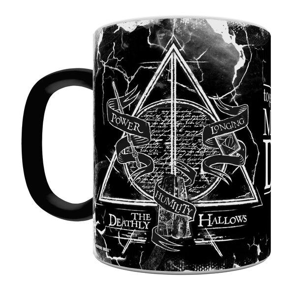 Morphing Mugs Harry Potter The Deathly Hallows Heat Sensitive Coffee Mug Reviews Wayfair