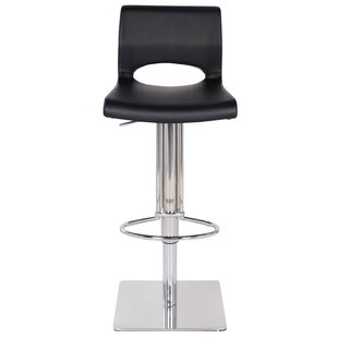 Adjustable Height Swivel Bar Stool by Joseph Allen