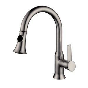 Y Decor Lazaro Single Handle Deck Mounted Kitchen Faucet