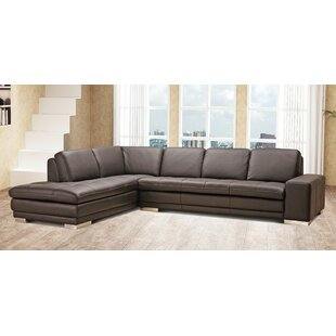 Bender Leather Sectional b..
