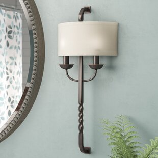 Darby Home Co Amalthea 2-Light Wall Sconce