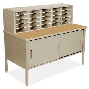 25 Compartment Mailroom Organizer by Marvel Office Furniture