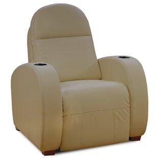 Latitude Run Leather Home Theater Individual Seating
