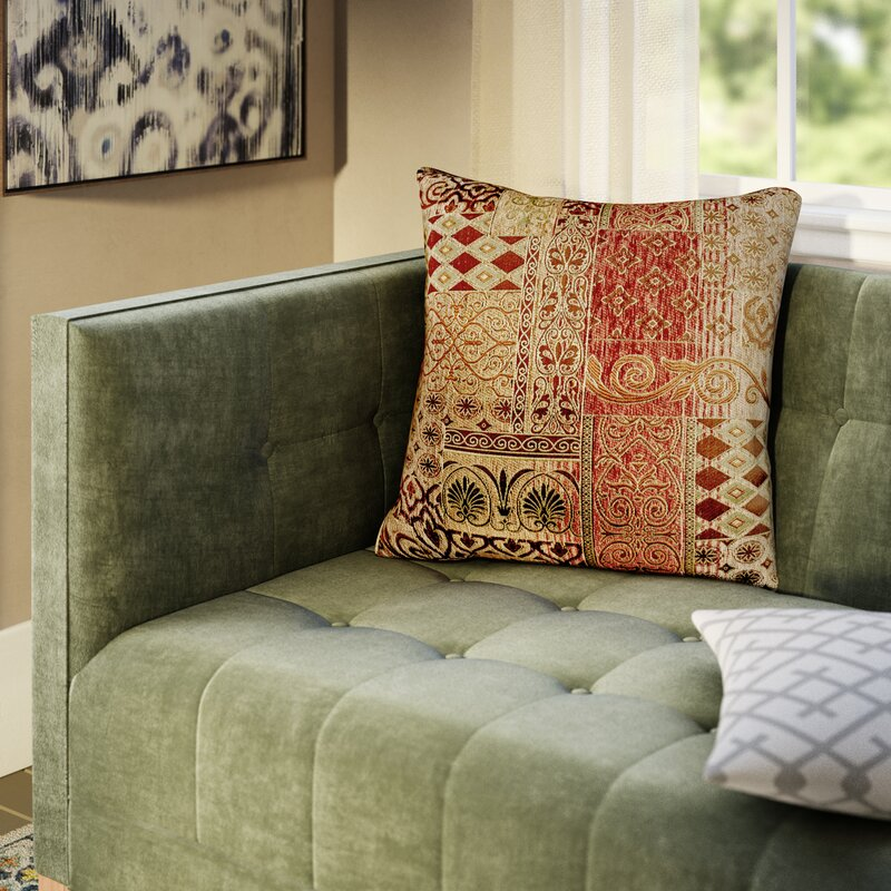 Fleur De Lis Living Akiva Square Pillow Cover Insert Reviews Wayfair