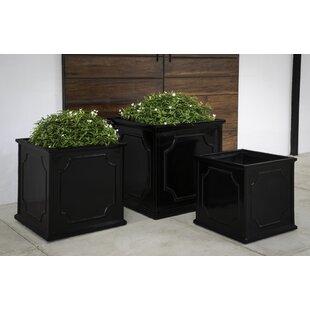 Carmina 3-Piece Fiberglass Planter Box Set