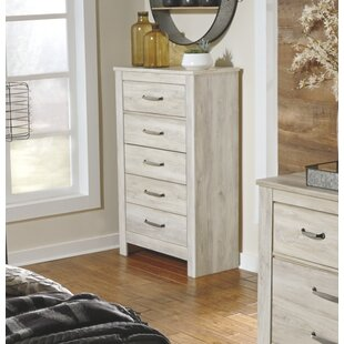 Gracie Oaks Saint 5 Drawer Chest