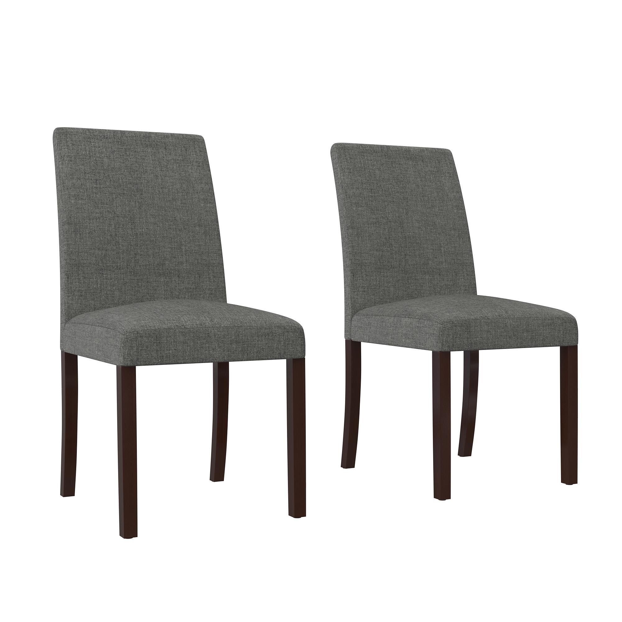 Alcott Hill Satchell Linen Upholstered Dining Chair Reviews Wayfair