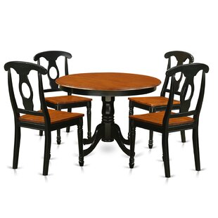 Travis 5 Piece Dining Set August Grove
