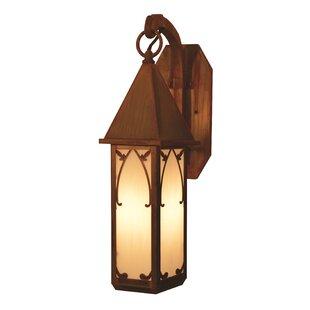 Saint George 1-Light Outdoor Wall Lantern..