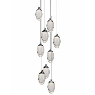Drop 9-Light Pendant by Radionic Hi Tech