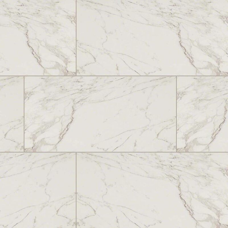 Msi Pietra Carrara 12 X 24 Porcelain Field Tile In White Reviews