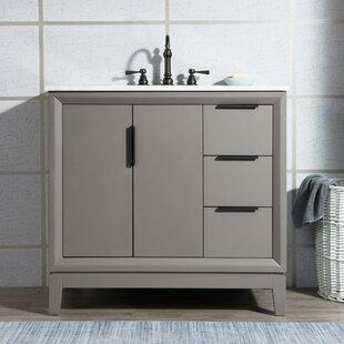 Tappahannock 36 Single Bathroom Vanity Set with Mirror By Ivy Bronx