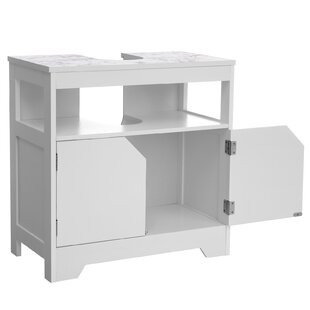 Review Enright 60 X 60cm Free Standing Cabinet