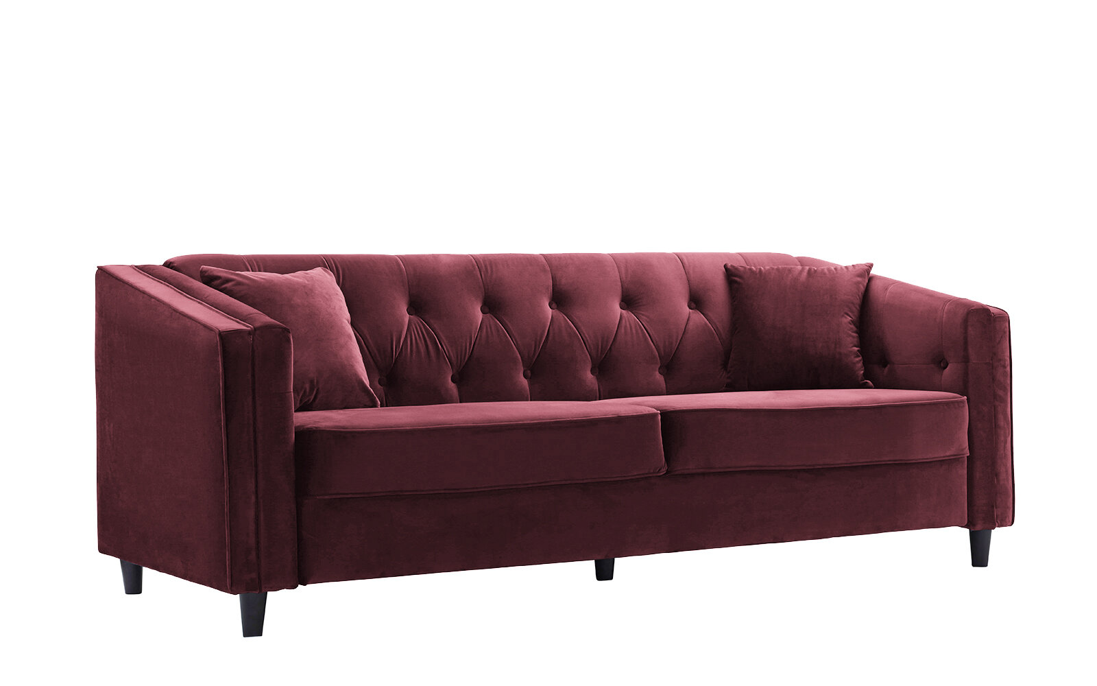 Alcott Hill Amberwood Classic Living Room Couch Sofa with Tufted ...