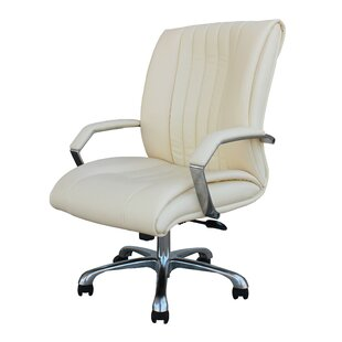 Winport Industries Winport High-Back Leather Desk Chair