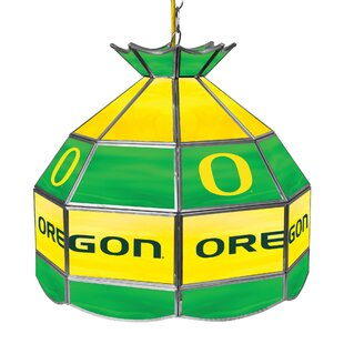 University of Oregon 1-Light Pool Table Lights Pendant by Trademark Global