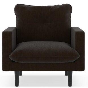 Scheidt Satin Weave Armchair by Orren Ellis
