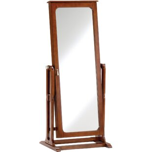 Darby Home Co Hughesville Jewelry Armoire with Mirror