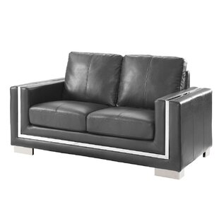 Vidor Contemporary Loveseat by..