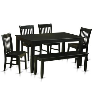 Araminta 6 Piece Dining Set by Alcott Hill