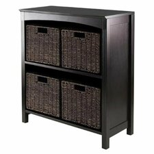 30 Cube Unit Standard Bookcase by Luxury Home
