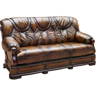 Gerdie Leather Sofa Bed 78