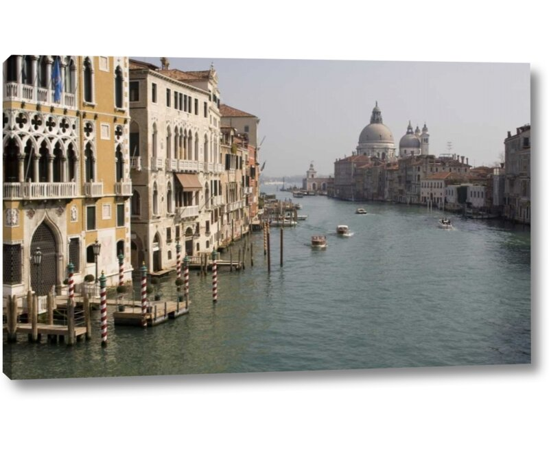 World Menagerie Italy Venice Grand Canal In Late Afternoon By Wendy Kaveney Giclee Art Print On Wrapped Canvas Wayfair
