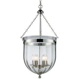August Grove Dyess 6-Light Urn Pendant