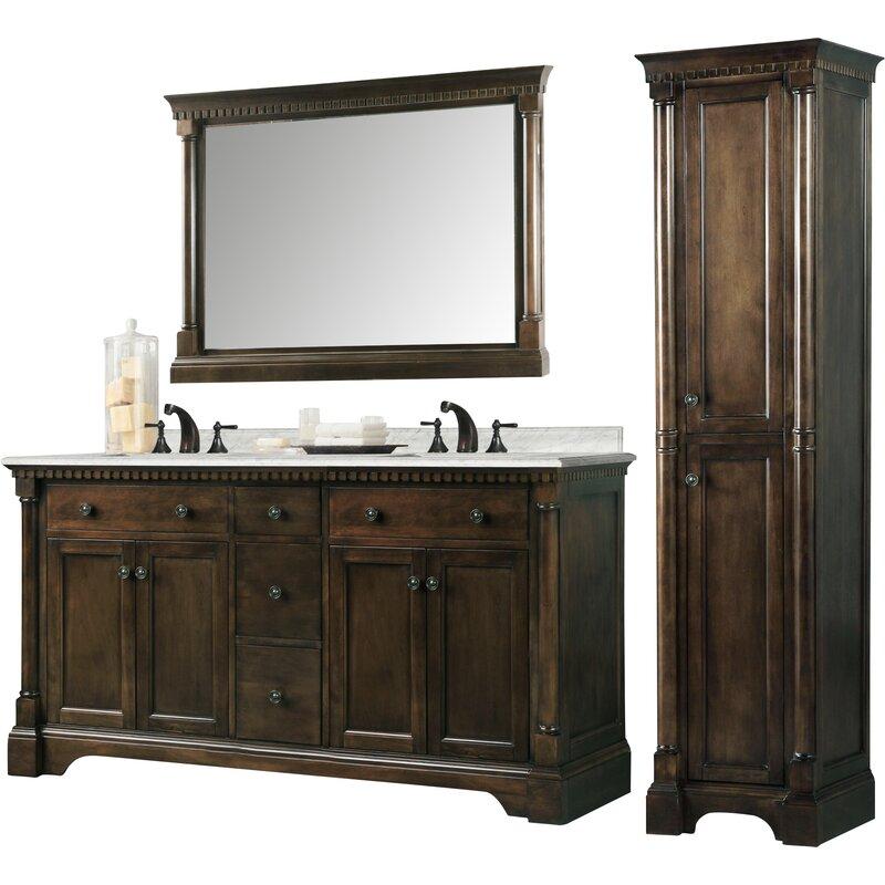 Double Bathroom Vanity Reviews Wayfair