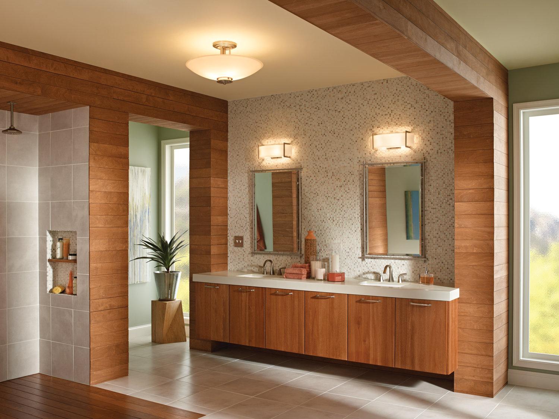 Kichler Crescent View 2-Light Bath Bar & Reviews | Wayfair