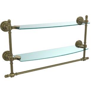 Allied Brass Retro Dot Duo Wall Shelf