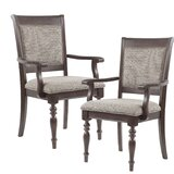 Beckett Upholstered Dining Chair (Set of 2) by Madison Park Signature