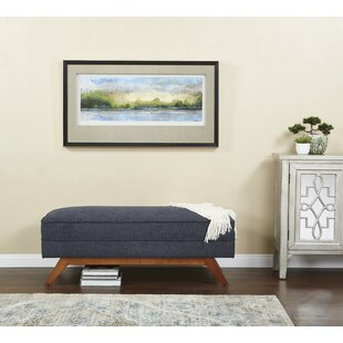 Vasser Upholstered Bench by George Oliver