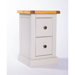 Escoto 2 Drawer Bedside Table By Brambly Cottage
