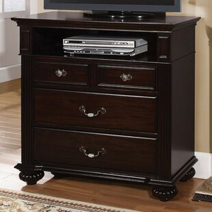 Taraval Wooden Media 4 Drawer Chest