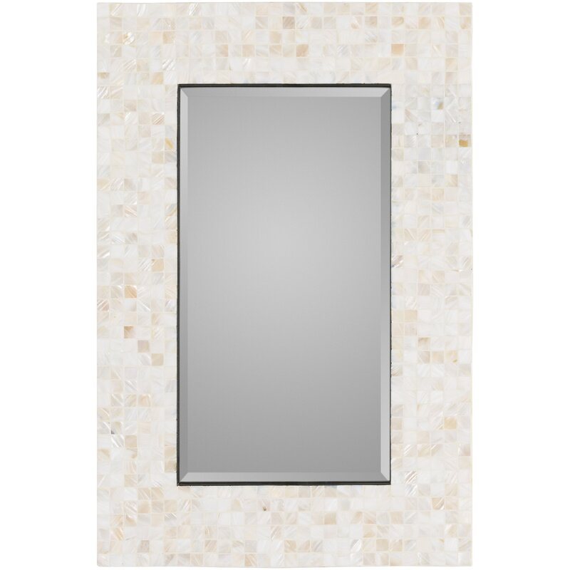Coastal Wall Mirrors rosecliff heights coastal rectangle wall mirror & reviews | wayfair