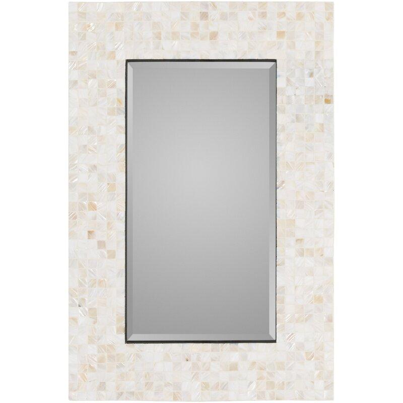 Coastal Wall Mirrors rosecliff heights coastal rectangle wall mirror & reviews | wayfair