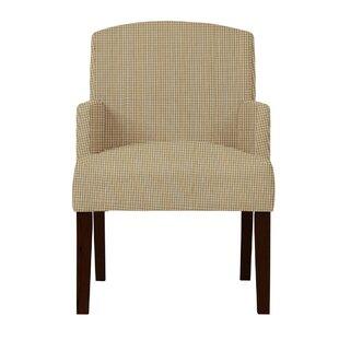 Langley Street Arturo Cotton Formal Arm Chair
