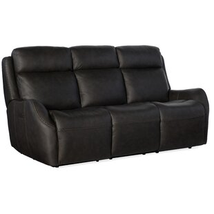 Sandovol Leather Reclining Sof..