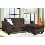 Aizel 82 Reversible Modular Sectional with Ottoman by Latitude Run