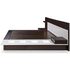 Butner Contemporary Storage Platform Bed by Wade Logan