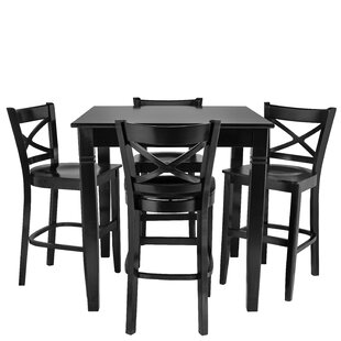 Weisinger 5 Piece Pub Table Se..