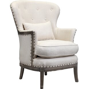 One Allium Way Shaliene Wingback Chair