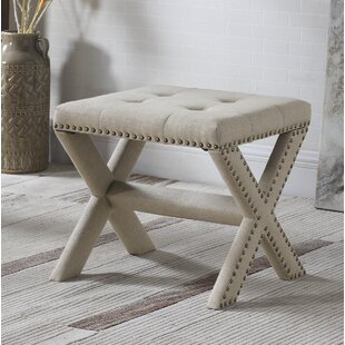 Vanhorne Upholstered Bench by Charlton Home