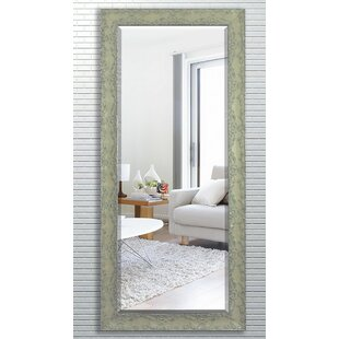 Darby Home Co Brown Wood Beveled Wall Mirror