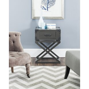 Compare prices Agoura Hills Dunstan End Table by Trent Austin Design