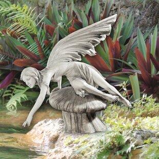 The Daydream Fairy Statue By Design Toscano