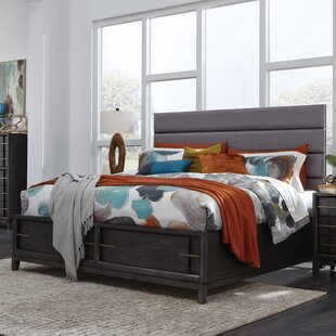 Diehl Upholstered Storage Panel Bed